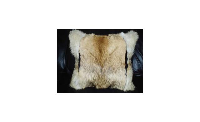 Aux Arc Fur Traders Fur Pillow